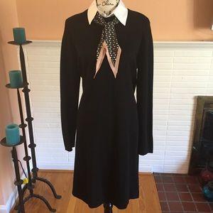 Polo Ralph Lauren Knit Dress w/Removable Collar